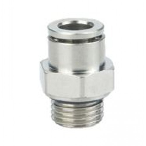 Pneumatic Fitting IPC (Male Straight Connector)