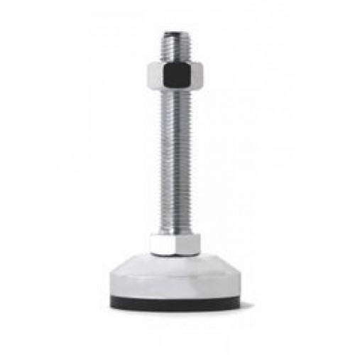 Leveling Stand - Stainless Steel Ball Joint Rubber Plastic Foot