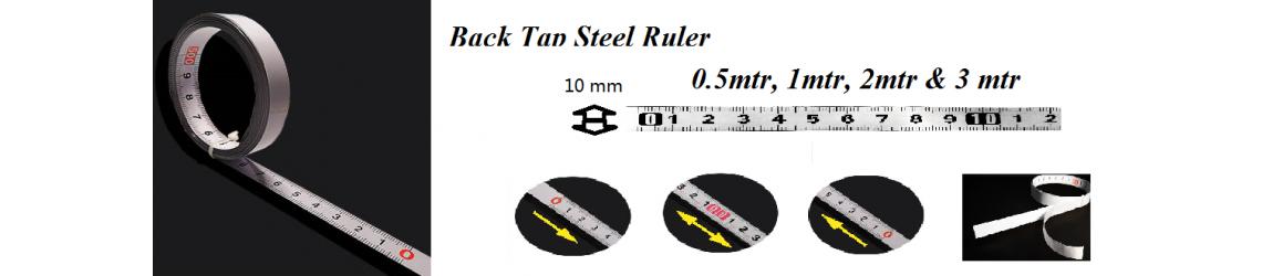 Back Tap Steel Ruler