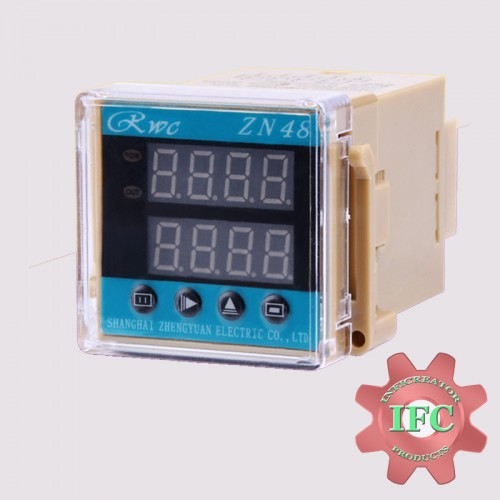 Digital Time Relay Counter